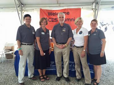 ACES Alumni Association at the Farm Progress Show