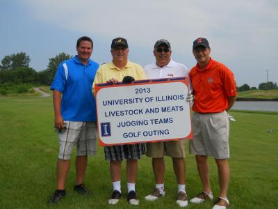 Golf Outing Winning Team Members