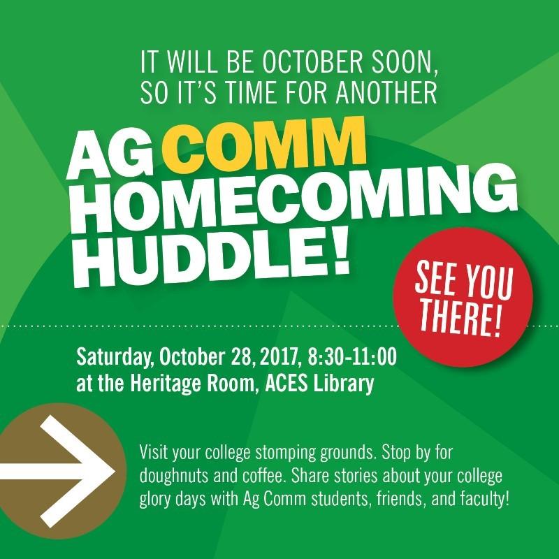 Ag Comm Huddle