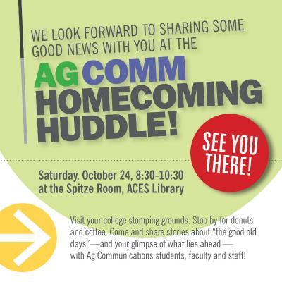 Ag Comm Huddle Poster